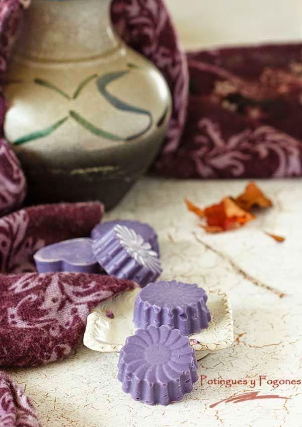 POTINGUES Y FOGONES: Jabón de sésamo y jojoba