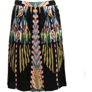 Givenchy Cleopatra Print Tech Skirt