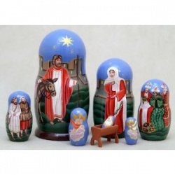 Russian Nesting Doll or Matryoshka is a wonderful Christmas Gift you can give to anybody for home decoration. The beauty of Matryoshka will make...