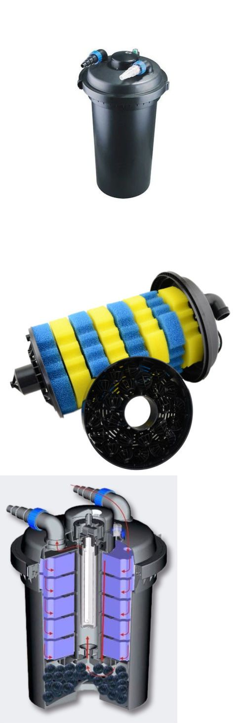 UV Sterilizers 117434: New 4000 Gallon Pressure Built-In 36W Uv Sterilizer Koi Fish Pond Bio-Filter -> BUY IT NOW ONLY: $160.99 on eBay!
