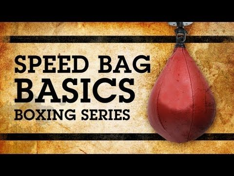 Boxing Lesson 10 - Learning How To Use a Speed Bag Training - YouTube