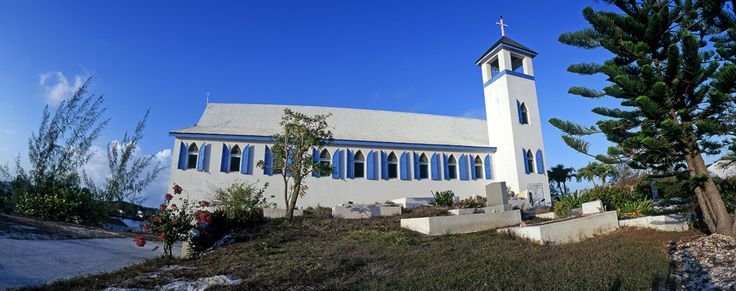 st andrews anglican church george town exuma bahamas took pictures here of native girls
