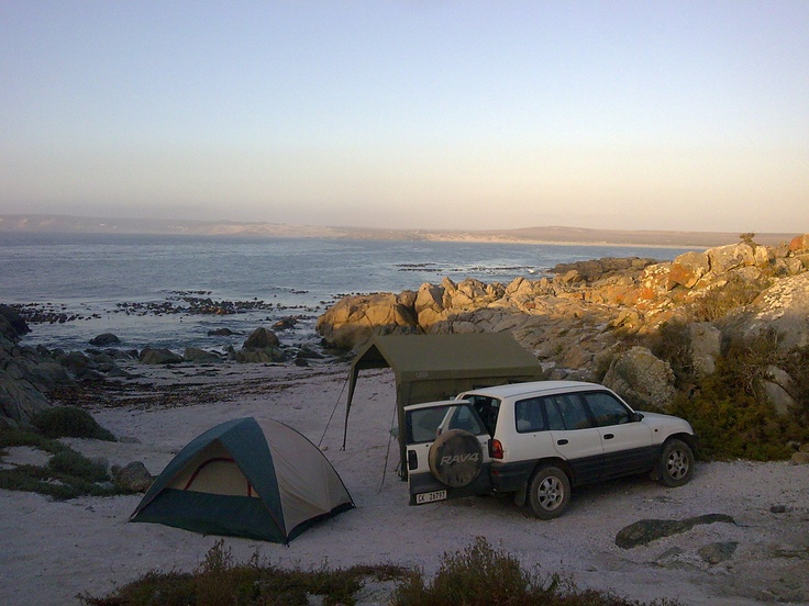 Trekkos Beach, West Coast, South Africa