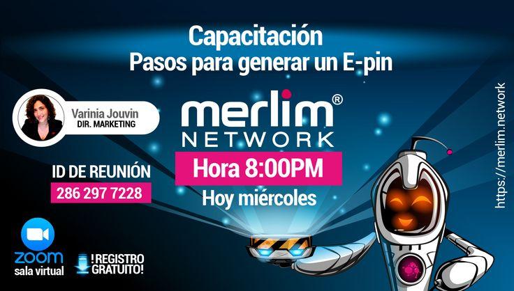 """Afiliado: estás invitado a la Capacitación """"Pasos para generar un E-pin"""".  Fecha: miércoles 05 de Octubre 2016  Hora: 8:00 pm (Hora Colombia)  Únete a la conferencia en el siguiente link  https://zoom.us/j/2862977228  ID de la reunión: 286 297 7228  #MerlimNetwork #Merlim #Opportunity #Business #NetworkMarketing#MLM #Apps #App #Games #Mobile #Magitekinternacional #Colombia#World #International #OMG #TrueStory #Priceless #Noway #Pioneers#Asia #Brazil #Nigeria"""