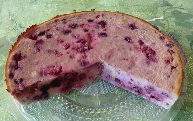 Gâteau de semoule de riz aux fruits rouges sans gluten et sans lactose. Aujourd'hui un nouveau et délicieux gateau de semoule  à la polenta de riz Exquidia, au lait de chanvre et aux fruits rouges...Il est une fois de plus très peu sucré!