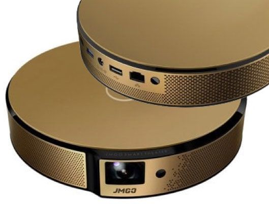 JmGO E8 HD Smart Portable Projector Home Theater