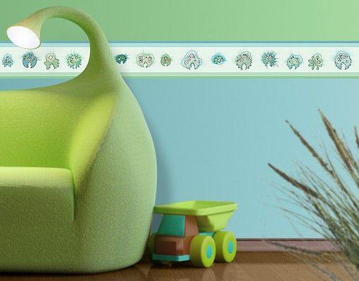 en iyi 17 fikir, bordüre kinderzimmer pinterest'te | lavabo ... - Wandtattoo Kinderzimmer Grun