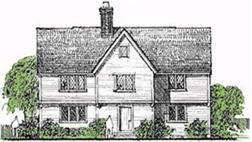アーリー/ニューイングランド/コロニアル様式 建築デザインバリエーション 輸入住宅専門の建築施工ならユニバーシス