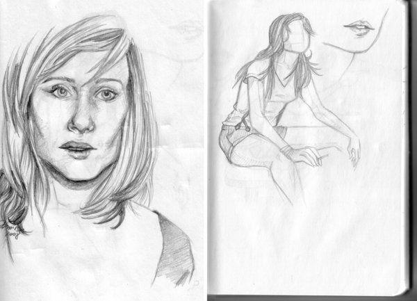 Romola Garai by MrsDarko, drawing http://RomolaGarai.org