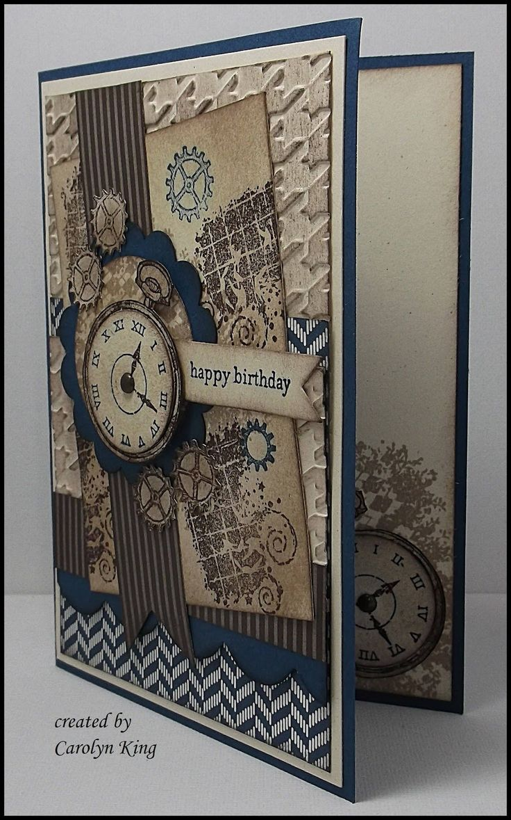 366 Best Timepiece Clock Cards Images On Pinterest Map Watch