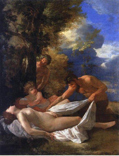 Νύμφη και Σάτυρος (1627)