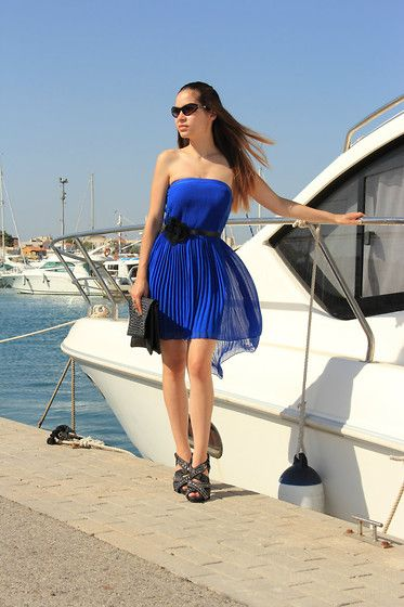 Blue dreams! (by Sandra  P) http://lookbook.nu/look/3929924-Blue-dreams