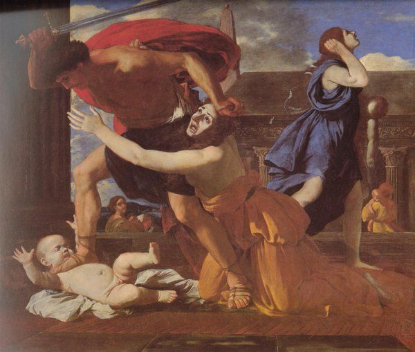 Massacre o the Innocents (Nicolas Poussin)
