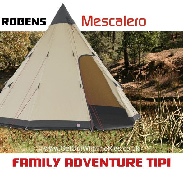 Robens Mescalero Family Tipi Tent - Love this tent