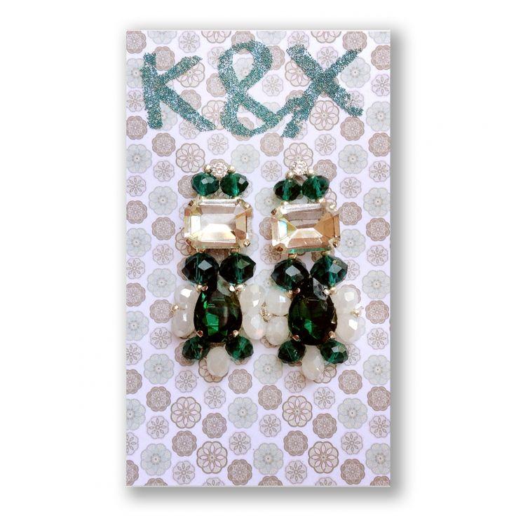 серьги Roma Green1 #Roma  #green #kxroma #green #accessories #odessa #handmade #luxury #fashion #style #kxfashion #jewelry #fashion #earrings #glam