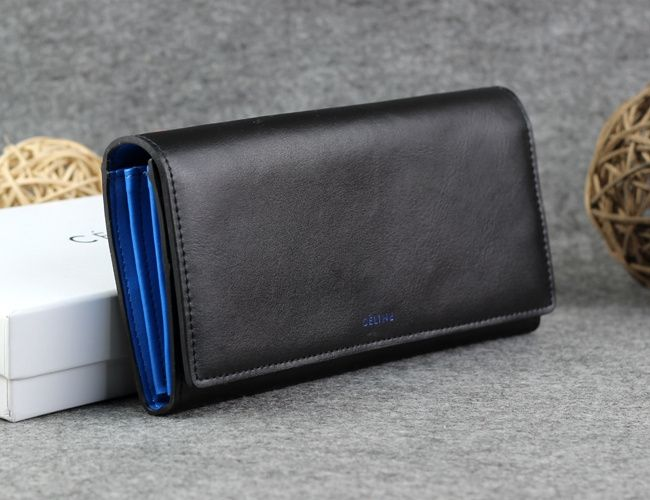 celine shoes and bags - Celine Continental Wallet in Satinated Calfskin Black - $200.00 ...