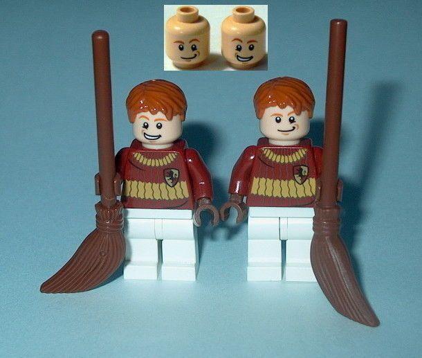 HARRY POTTER #66B Lego Fred & George Quidditch Custom NEW Genuine Lego Parts  | Toys & Hobbies, Building Toys, LEGO | eBay!