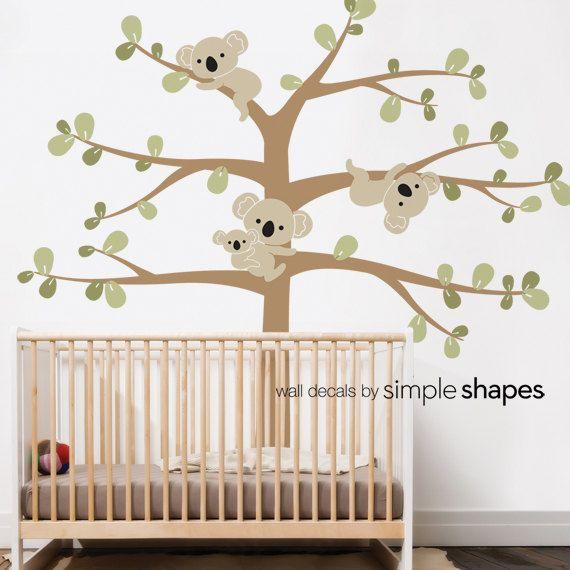 1000 id es sur le th me koala nursery sur pinterest chambre b b b b et chambre b b - Stickers koala chambre bebe ...