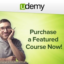 Udemy Over 9,000 Courses Online, Choose From Learning Affiliate Marketing, Website Development/Design, IT And Software, Social Media Marketing And Loads More To Learn!!