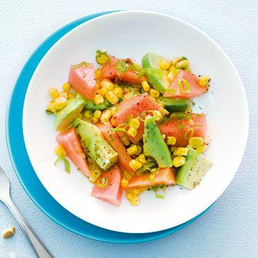 Avocadosalat mit Mais