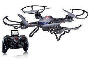 Holy Stone F181 RC Quadcopter Drone with HD Camera RTF 4 Channel 2.4GHz 6-Gyro Headless System Black http://amzn.to/2aO8yUt