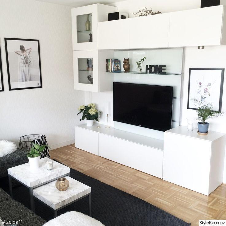 34 best besta ikea images on pinterest tv units tv for Decoration coin salon