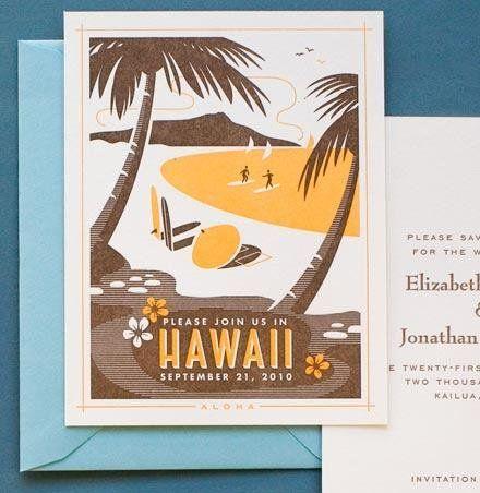 LOVE This Wedding/Hawaii Invitation