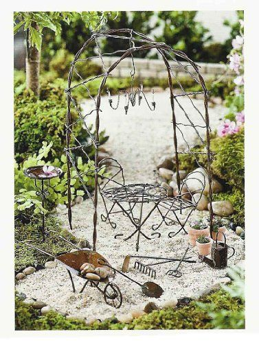Awesome Vine Arbor Miniature Garden Set * You Can Get More Details By Clicking On  The Image. Find This Pin And More On Plant Support Structures ...