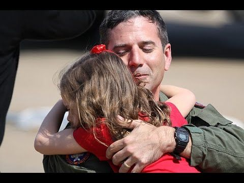Soldiers return home from deployment to surprise their families and pets in this compilation. Welcome