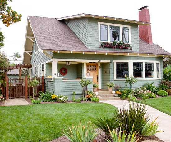 Craftsman-style homes are known for their attention to Arts and Crafts details, found especially in small, economical bungalows. Browse our pictures of Craftsman-style homes to find ideas for layout, design, and color.