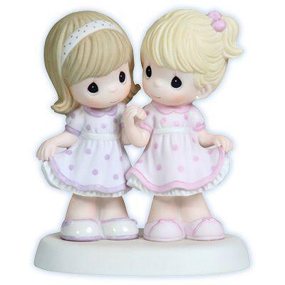 Precious Moments Sisters Share A Special Bond Sister Figurine Friendship 112006 | eBay