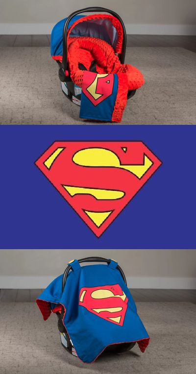 Car Seat Accessories 66693 Superman Whole Caboodle Cover 5 Piece Set Year Round Use Baby Infant BUY IT NOW ONLY 6999 On EBay
