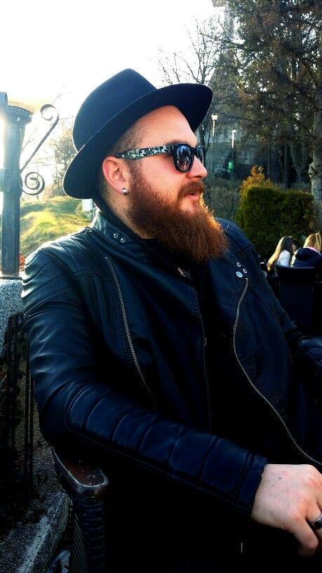 #beard #black #ootd