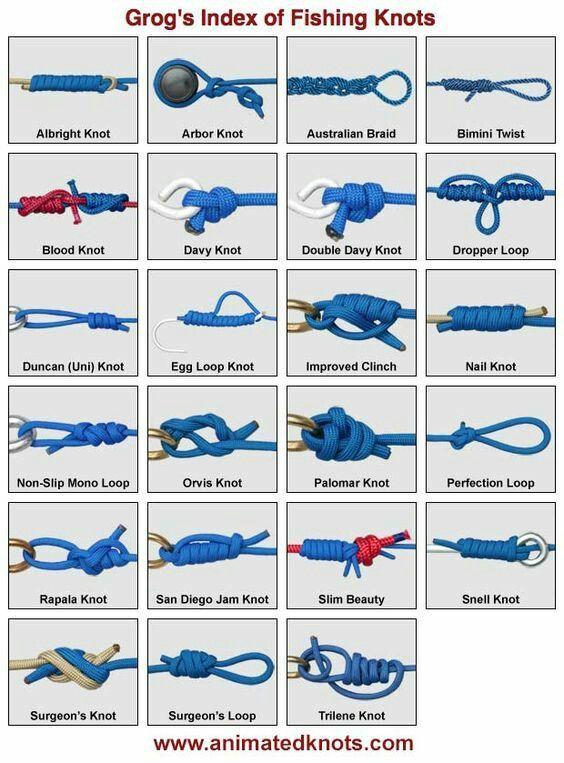 JCT❤️.  Fishing knots