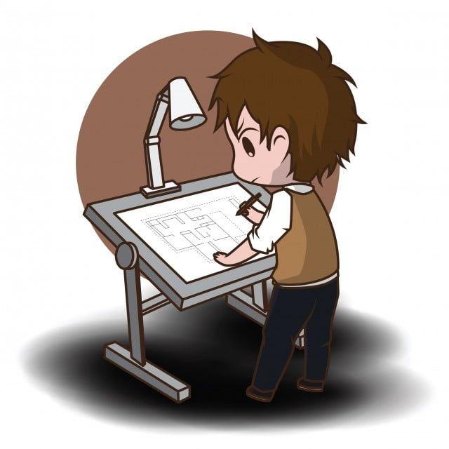 لطيف شخصية الكرتون المهندس المعماري جذاب مهندس معماري كرتون Png والمتجهات للتحميل مجانا Cartoon Characters Cartoon Cartoon Posters