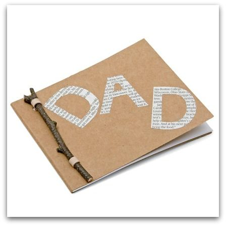 Fathers Day DIY Gift Pad. For inspiration and party ideas visit us here - http://www.etsy.com/shop/getthepartystarted