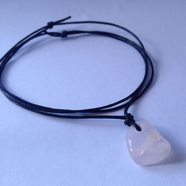 Rose Quartz Gemstone Crystal Love Necklace  sistaura https://www.etsy.com/au/listing/224906789/rose-quartz-gemstone-crystal-love?ref=shop_home_active_10