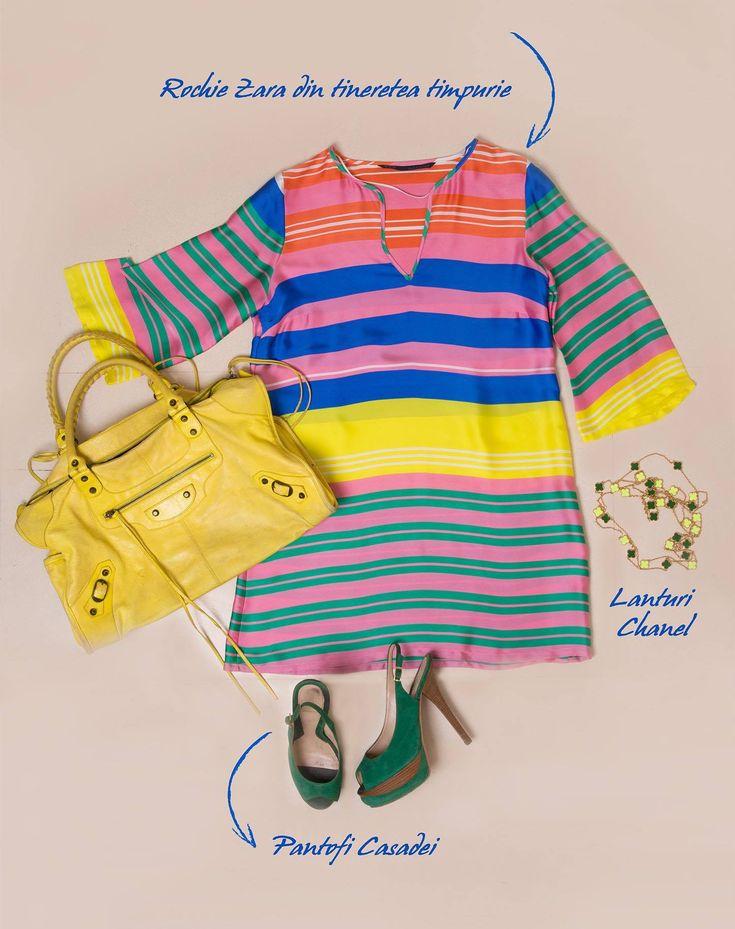 #Zara #Dress #Chanel #CasadeiShoes #Fashion #MyVintage #MyCloset