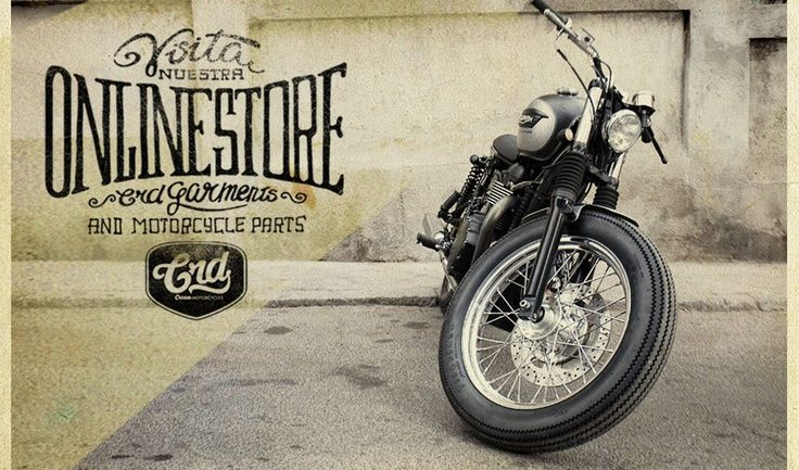 beautiful type & lettering work | cafe racers, motorbikes and