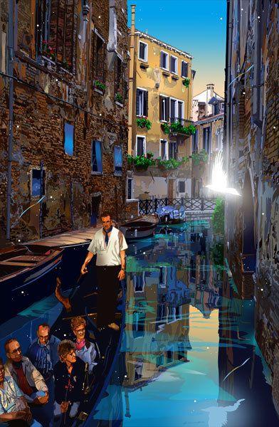 鈴木英人 : 迷宮の舟歌