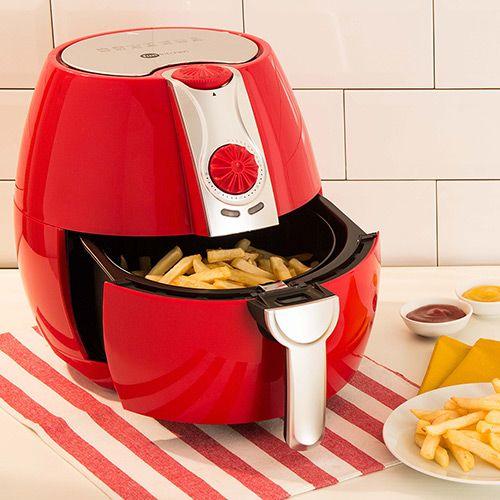 Fritadeira Sem Óleo Fun Kitchen Fritalight 3.2 Litros Vermelho ou Branco
