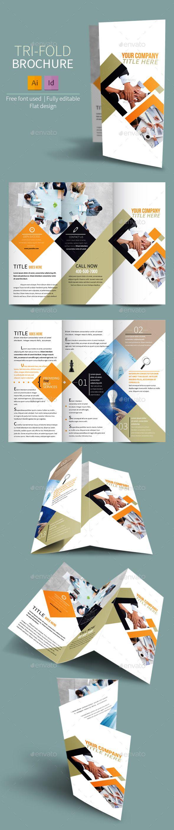 Best Brochure Template Images On Pinterest Brochures - Informational brochure template