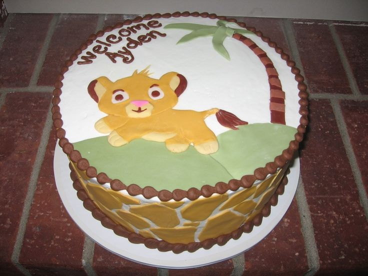 Pumba Cake: 11 Best Images About Cake Design For Ian's Lion King