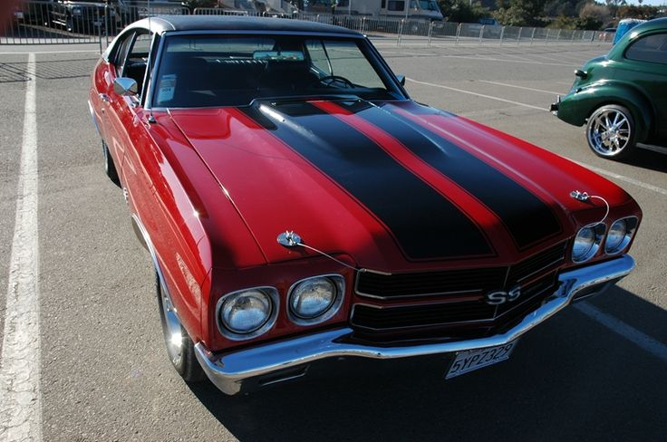 Classic American Muscle Car - Chevy Chevelle SS 454 - raw power!!