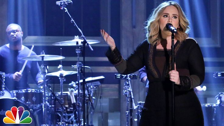 """WatchAdele perform """"Water Under the Bridge,"""" talk Rihanna andFrank Ocean On 'Fallon'.  As her new album practically flies off shelves (25 has sold 2.3 million copies since Friday, and could break the 3 million mark by the end of the week), Adele made a special appearance on The Tonight Show Starring Jimmy Fallon last night. The bubbly British singer not only sat down for a quick chat, talking about how much she can't wait for those new Rihanna and Frank Ocean albums, but she also played…"""