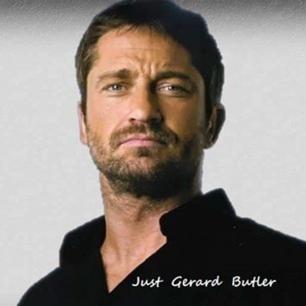 "Gerard Butler❤︎ ""Simply... No words"""
