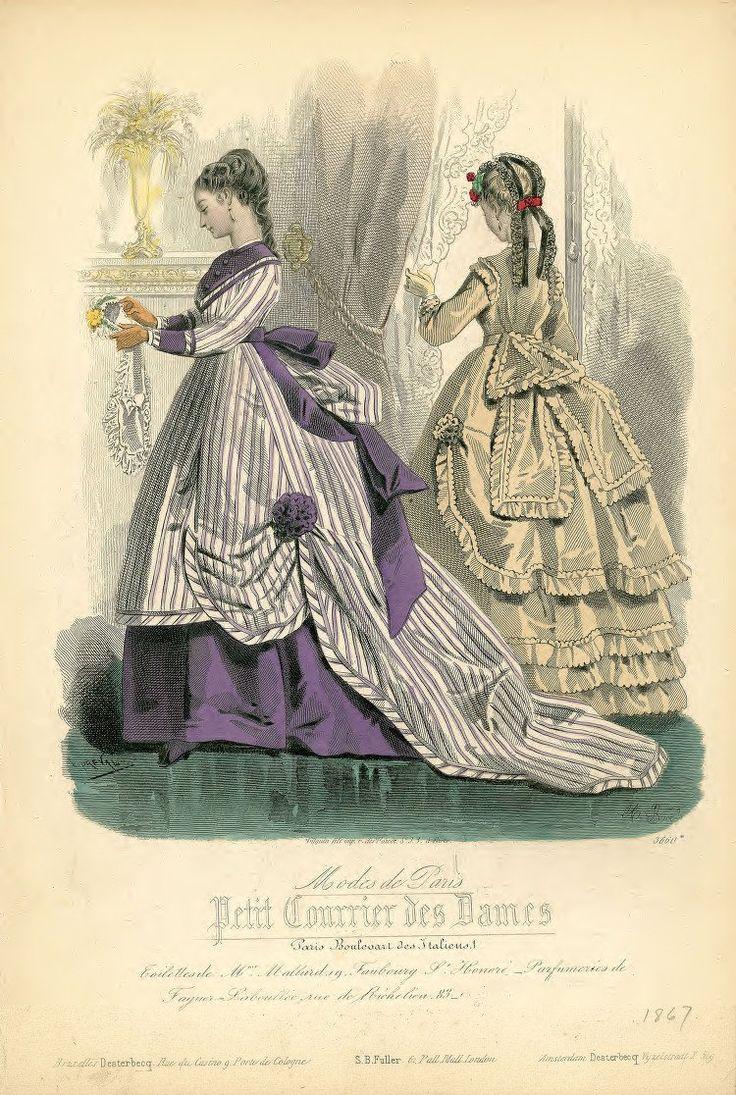 1867 - Petit Courrier des Dames