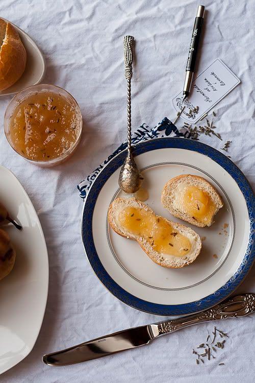 Pear lavender jam