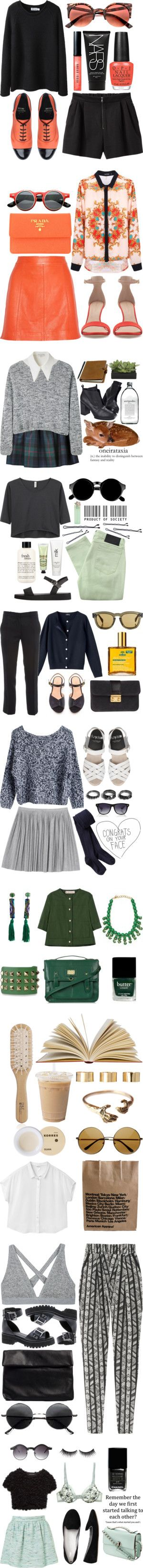 """Campus Cool"" by natalieoffduty ❤ liked on Polyvore"