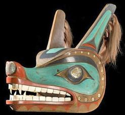 Wolf Mask Native American